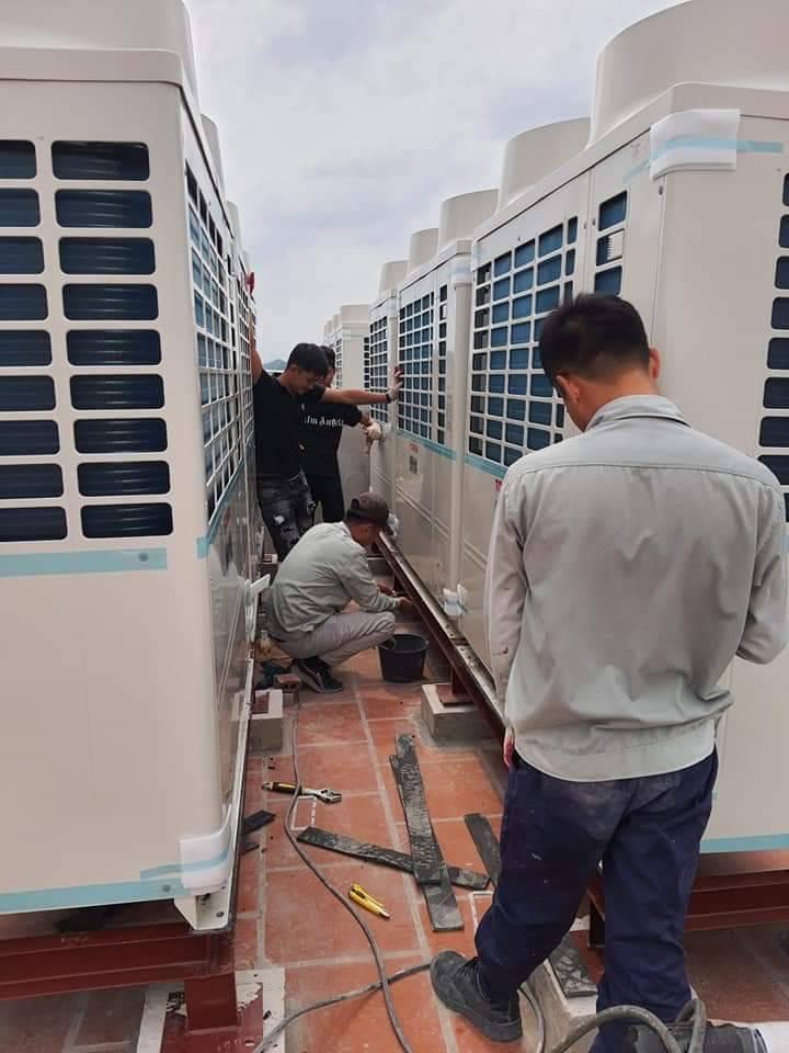 Khách sạn Xuân Hòa, Kim Đồng, Cao Bằng - Thi công lắp đặt hệ thống điều hòa trung tâm