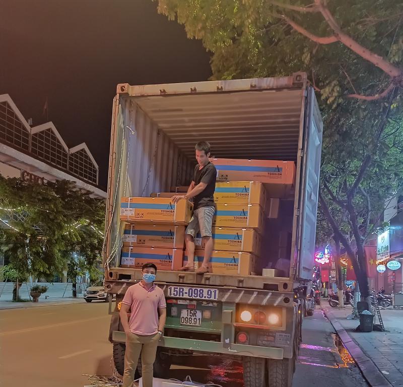 Khách sạn Xuân Hòa, Cao Bằng - Thi công lắp đặt hệ thống điều hòa trung tâm VRF