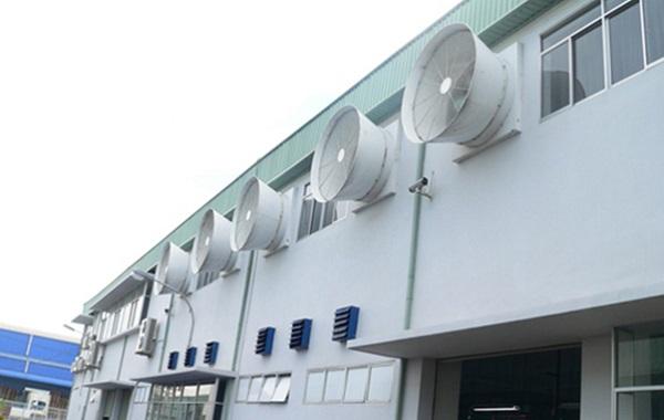 Giới thiệu hệ thống điều hòa thông gió tại các nhà xưởng