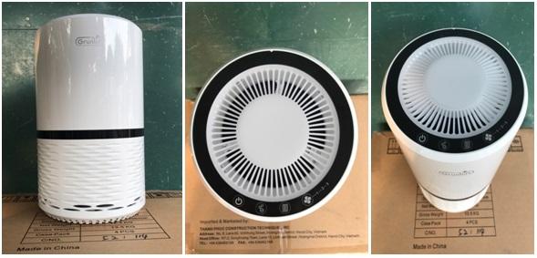 Ưu điểm và ứng dụng máy lọc không khí GRUNLUFT